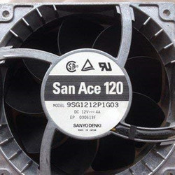 SANYO 9SG1212P1G03 12038 12CM 12V 4A Large air Volume Violent Fan 12CM 6months Warranty