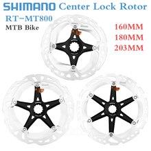 Shimano DEORE XT SM-RT800 Disc Rotor Center Lock MTB Brakes Rotor ULTEGRA RT-MT800 Road Mountain Bike Disc Rotors 140/160/180mm