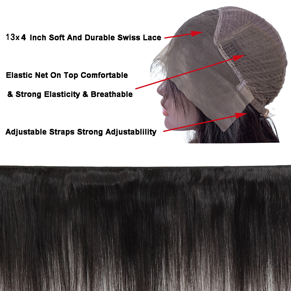 13x4 Short Straight Bob Lace Front Human Hair Wigs For Women #27 #1B 99J Brazilian Remy Pre Plucked Lace Front Wig