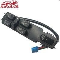 Aroham-livraison gratuite | Interrupteur de fenêtre d'alimentation OEM 2208201010/A2208201010 | Pour Mercedes Benz W220 S430 S500 S600 S55 AMG 2000-2006  nouveau
