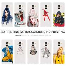 Phone case For Samsung Galaxy A10 A20 E A30 A40 A70 A50 A60 A80 A90 a10s a20s a30s a70s M40 Billie Eilish Hot Music Singer Star(China)
