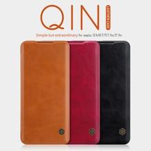 Dla OnePlus 8 etui Funda oneplus Nord etui oneplus 7T etui NILLKIN Qin portfel skórzane etui z klapką do etui OnePlus 8 pro/7/7pro