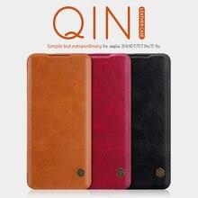 OnePlus 8 케이스의 경우 Funda oneplus Nord 케이스 oneplus 7T 케이스 NILLKIN Qin Wallet 플립 가죽 케이스 OnePlus 8 pro/7/7pro 케이스의 경우