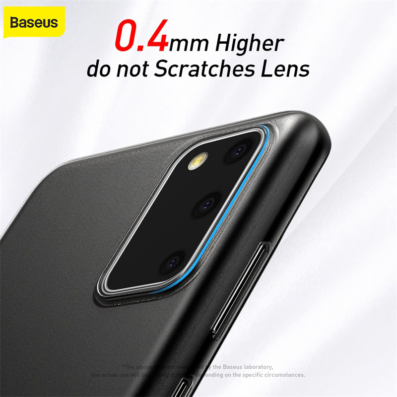 Baseus Phone Case For Samsung S20 Plus Ultra Thin 0.4mm Protector Cover For Samsung Galaxy S20 Ultra for Samsung S20 Back Case