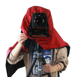 Image 4 - ETone parasol de enfoque de tela oscura para cámara de gran formato 4x5, color negro