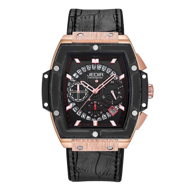 Relogio Masculino męskie zegarki Top luksusowa marka biznes zegarek hublot JEDIR Casual wodoodporny męski zegarek chronograf zegar