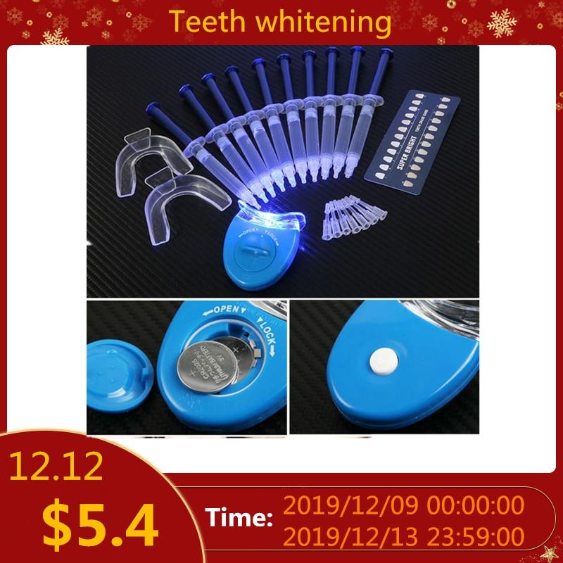 Teeth Whitening Peroxide Dental Bleaching System Oral Gel Kit Tooth Whitener Dental Equipment 10PCS/6pcs/4pcs