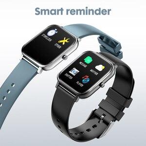Image 2 - 2019 전자 풀 터치 여성 남성 스마트 시계 심장 박동 블루투스 방수 시계 스포츠 Smartwatch for IOS Android