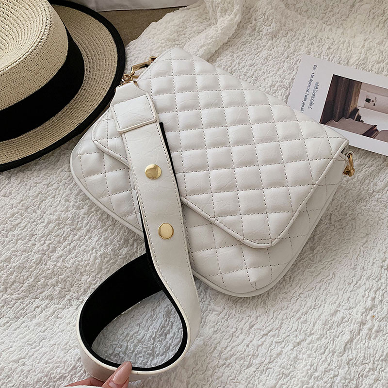 Elegant Female Square Crossbody Bag 2019 Fashion New Quality PU Leather Women's Designer Handbag Lattice Shoulder Messenger Bag