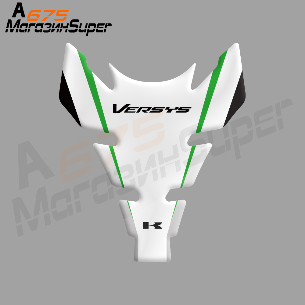 NEW Motorcycle 3D Fuel Tank Pad Sticker Fishbone Protective Decorative Decal Fit KAWASAKI Versys 650 1000 All VERSYS
