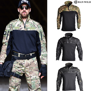 Us Army Clothing Tactical Combat Shirt Military Uniform Tatico Tops Airsoft Multicam Camouflage Hunting Fishing Clothes Mens black hunting clothes military uniforms mens hunting clothing tactical combat shirt cargo pants outdoor army ghillie suit men