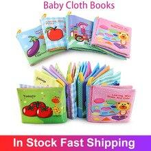 Bebê livro de pano macio livros criança recém-nascido aprendizagem precoce desenvolver cognize leitura quebra-cabeça livro brinquedos infantil livro silencioso para crianças