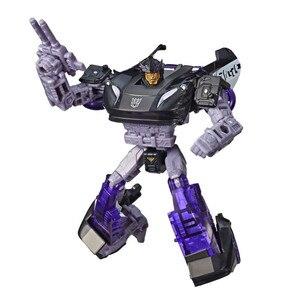 Image 2 - Siege War для Cybertron, d класс, Баррикада, автомобиль, робот, Классические игрушки для мальчиков, коллекция, фигурка