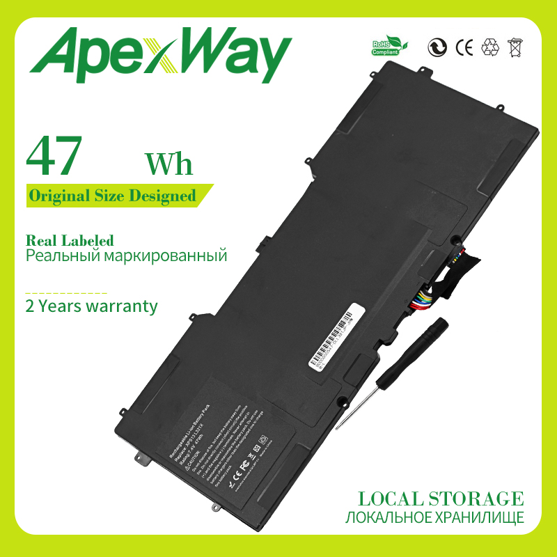 Apexway <font><b>7.4v</b></font> <font><b>4400mAH</b></font> 6 cell <font><b>Battery</b></font> For dell Studio XPS13 XPS 13 1340 312-0773 P891C T555C T561C P891C P866C image