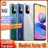 Original Xiaomi Redmi Note 10 5G NFC Global Version Smartphone RAM 6GB ROM 128GB MTK 700 90Hz Display 5000mAh 48MP Camera