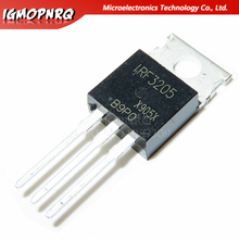 10pcs IRF3205 IRF3205PBF MOSFET MOSFT 55V 98A 8mOhm 97.3nC כדי 220