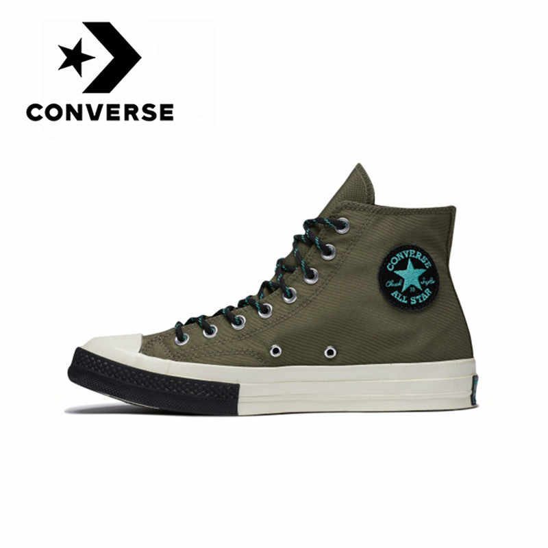 Converse 1970s Unisex Skateboarding Shoes Classic Canvas High Top Anti-Slippery Resistant Shoes Support Shock-absorbant 161481C