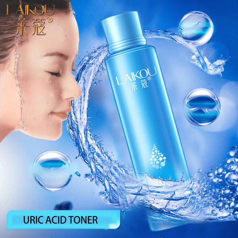 LAIKOU 125ML Face Tonic Hyaluronic Acid Face Tonico Oil-control Moisturizing Whitening Makeup Water Skin Care Toners image