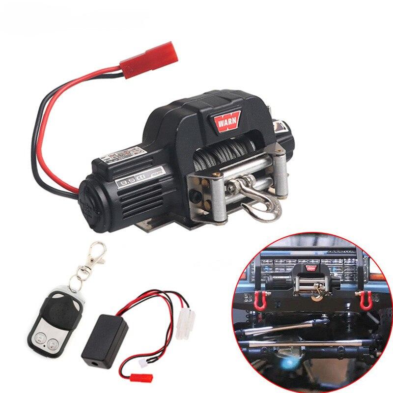 Récepteur de télécommande sans fil de treuil automatique pour voiture à chenilles 1/10 RC Axial SCX10 TRAXXAS TRX4 D90 TF2 Tamiya CC01