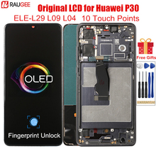 LCD Display for Huawei P30 Original OLED Lcd Support Fingerprint Unlock Screen Replacement for Huawei P30 P 30 ELE-L29 L09 L04