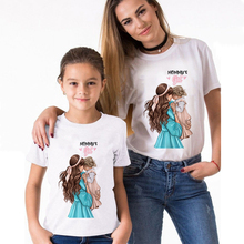 Tops Daughter-Clothes T-Shirts Funny Family-Look Summer And Son Mom Equal Sexemara Fashion