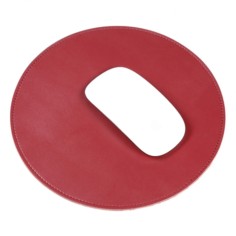 Unique Design Microfiber High Quality Round Shape Texture Circular Waterproof Mouse Pad