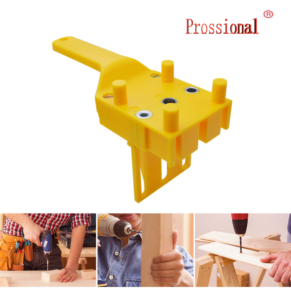 Woodworking Dowel Jig Fits 6 8 10mm Drill Guide Metal Sleeve Wood Drilling Doweling Hole Saw Tools Handheld Drill Guide