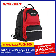 Organizer Bag Tool-Bag Backpack-Tool WORKPRO Multifunction Knapsack New-Design