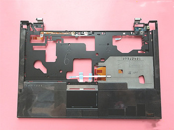 Brand new original case for Dell Latitude E4300 laptop C shell with touchpad + left and right button + with fingerprint 0VNMH1