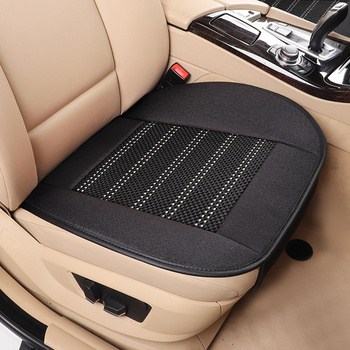Flax car seat cover ice silk cushion breathable mat pad for BMW X1 X3 X4 X5 e30 e34 e36 e38 e39 e46 e53 e60 e92 e83 e90 e87 image
