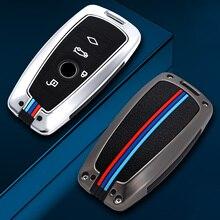 Car Key Case Cover for BMW 520 525 f30 f10 F18 118i 320i 1 3 5 7Series X3 X4 M3 M4 M5 E34 E90 E60 E36 Keychain