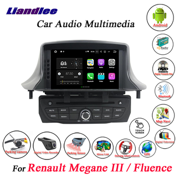Car Android System For Renault Megane III/Fluence 2009-2014 2015 2016 Radio CD DVD Player GPS Navigation HD Screen Multimedia image