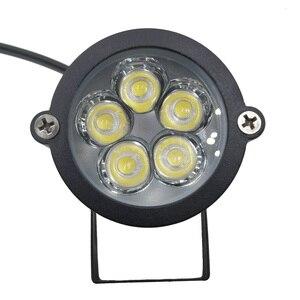 Image 5 - 9W עמיד למים ספייק נוף LED אור 12V 5X2W 220V נוף ספוט אור IP65 חיצוני נוף LED ספייק אור עבור גן
