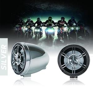 Image 4 - Waterproof Bluetooth Motorcycle Stereo Amplifier Speakers Handlebar Mount Audio Amp System for Harley ATV UTV RZR, AUX, FM Radio