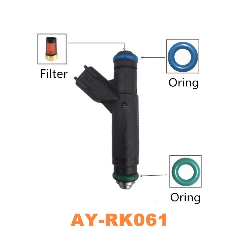50 kits Top-Feed MPI kraftstoff injektor reparatur kits für 1999-2004 Ford Mustang LX 3.8L V6 Motor für AY-RK061