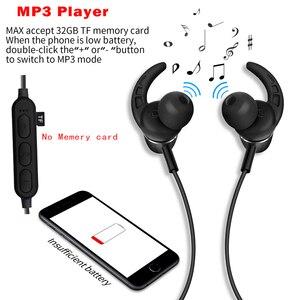 Image 3 - PunnkFunnk Bluetooth kulaklık kablosuz kulaklıklar Bluetooth 5.0 MP3 oyuncu metal manyetik 3D Stereo kulak kulaklık Mic ile