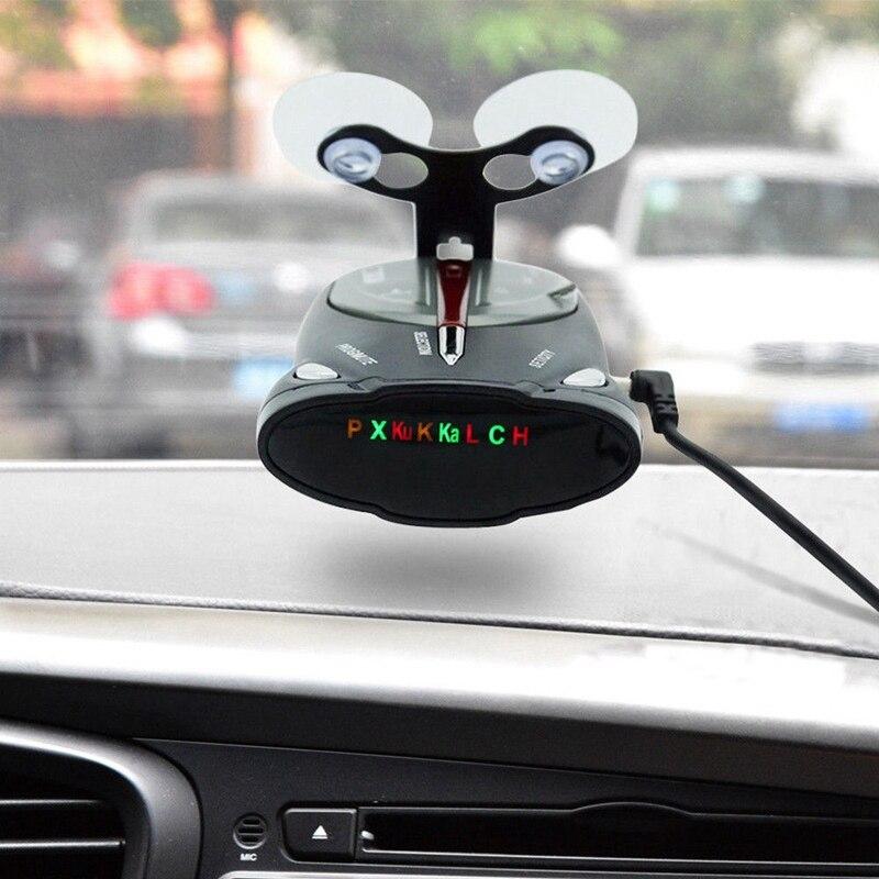 16-Band 360° Car GPS Laser Anti Radar Detectors Laser Voice Alert Cobra XRS 9880
