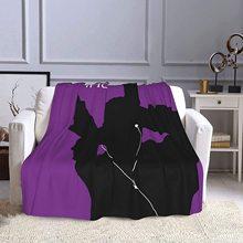 Stylish Omega Psi Phi Blanket Polyester Fiber Super Soft Blanket Warm Sofa Blanket Air Conditioning Blanket 80