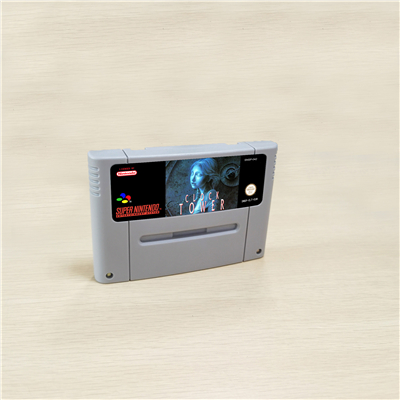 Clock Tower - RPG Game Card EUR Version English Language Battery Save