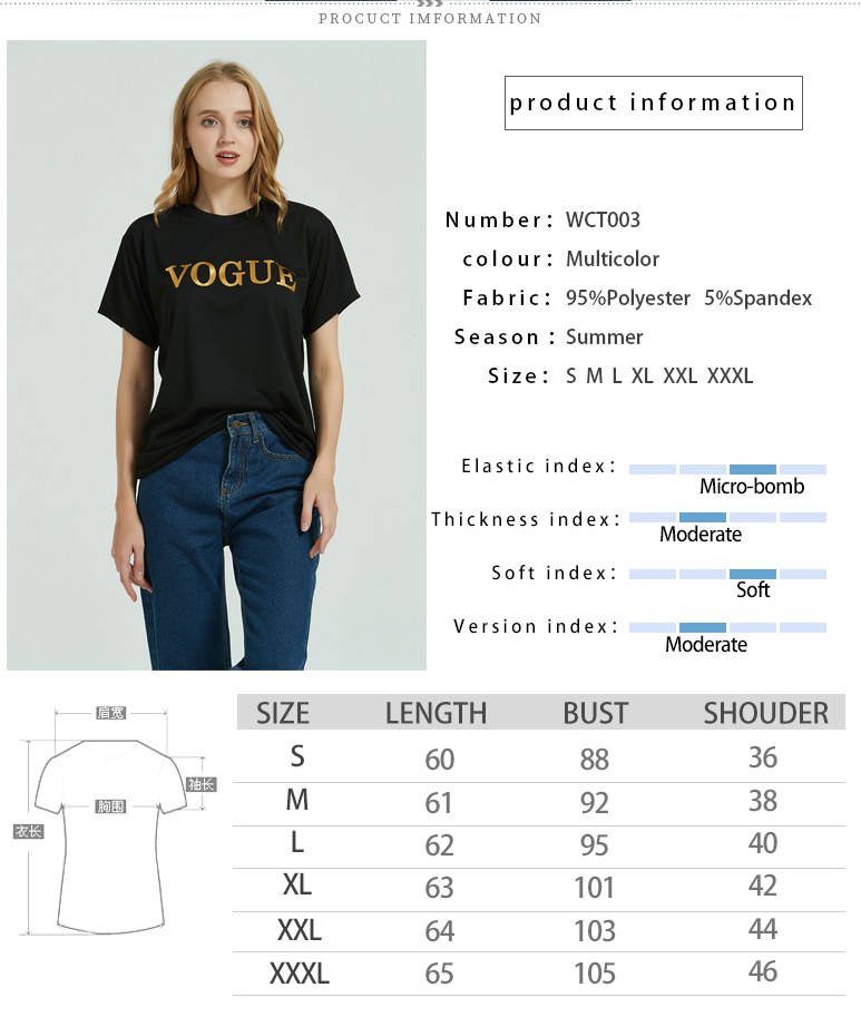 Fashion Brand 19 T-Shirts Print Women T Shirts O-Neck Short Sleeve Summer Tops Tee Trend style Rose Print Vogue clothing 3