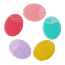Silicone Face Wash Brush Soft Cleanser Pads Exfoliating Cleansing Blackhead Remover Skin Care Tools