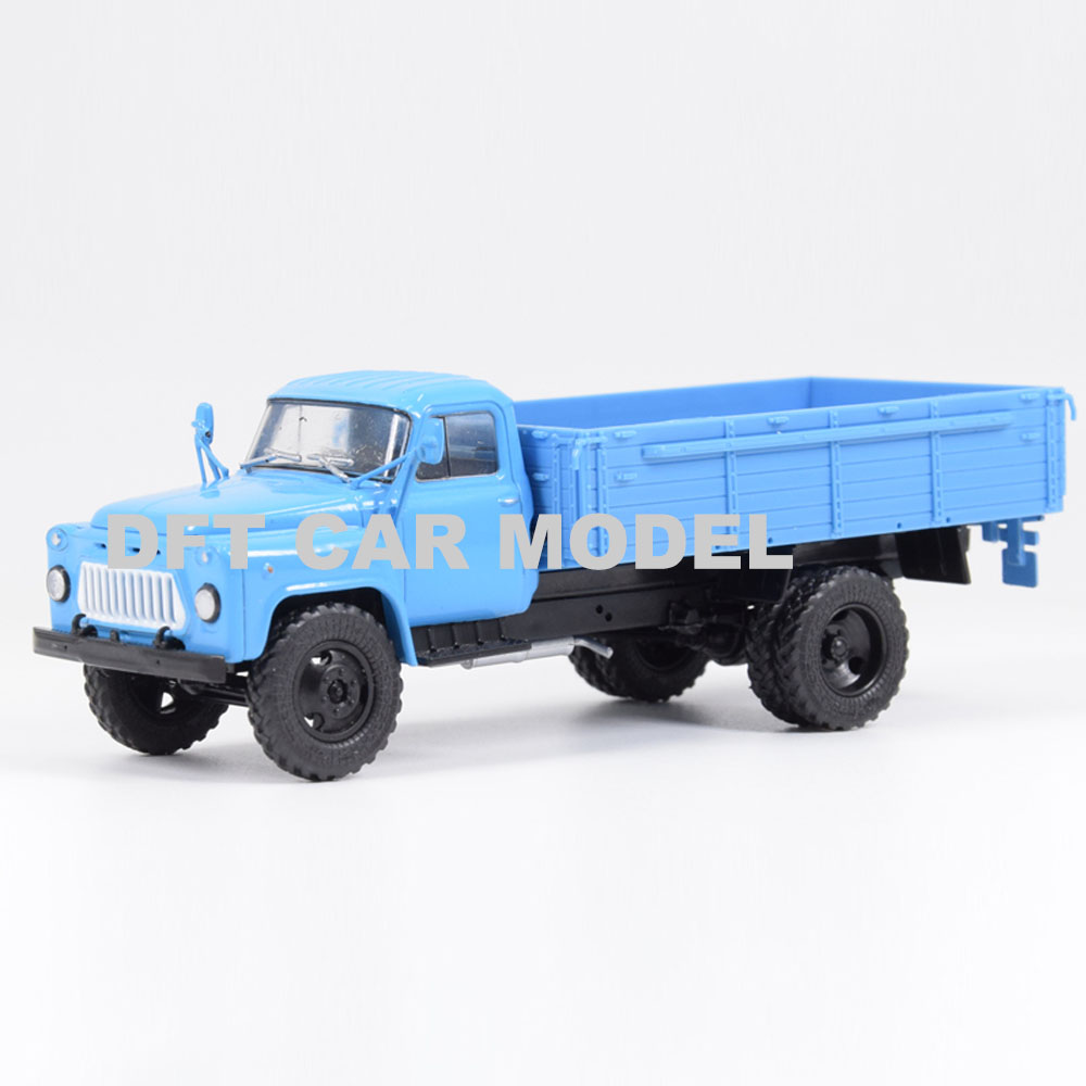Diecast 1:43 GAZ-53 Russian truck Model of Children's Toy Original Authorized Authentic Kids Toys Gift Free Shipping