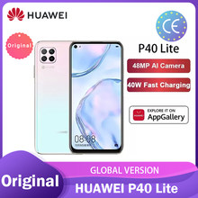 Global Version Huawei P40 lite/lite E 6+128GB smartphone 48MP AI Cameras 6.4'' FHD Kirin810 Octa Core 40W QC смартфоны