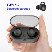 Bluetooth Earphones TWS 5.0 Bluetooth Headphone 3D Stereo Wi