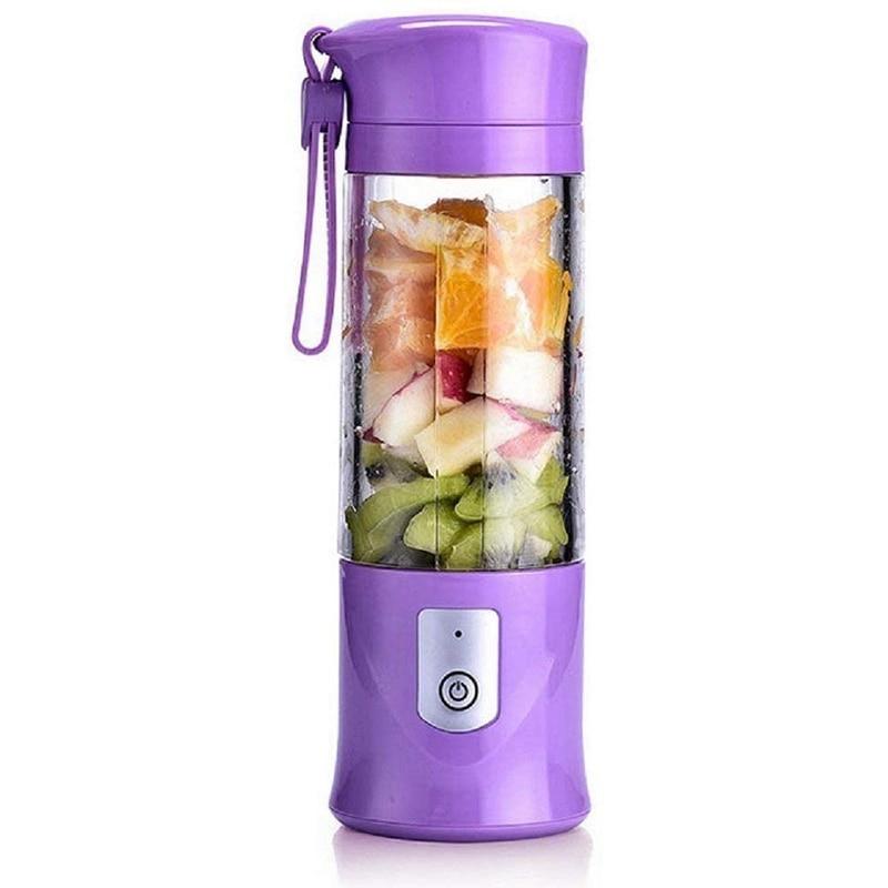 Hot USB Electric Safety Juicing Cup,Fruit Juice Blender,Travel Mix,Mini Portable Charging / Juicing Mix Crushing Ice Blender,420