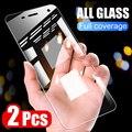 2Pcs Screen Protector Gehärtetem Glas Für Sony Xperia XZ XZ1 XZ2 Premium XA XA1 XA2 Ultra X XZ1 XZ2 kompakte Glas Schutz Film