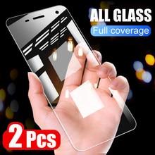 Protecteur d'écran, 2 pièces, Film de protection en verre trempé pour Sony Xperia XZ XZ1 XZ2 Premium XA1 XA2 Ultra X XZ1 XZ2