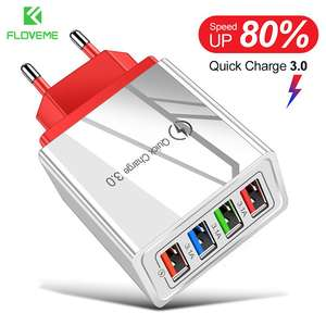 Usb-Charger Adapter Mi-Note Xiaomi 4-Ports Tablet Eu-Plug Wall for 10/Pro/Tablet/..