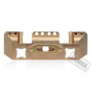 Image 2 - INJORA Metal Brass Front Servo Stand for 1/10 RC Crawler Car Traxxas TRX4 TRX 4 TRX 6 Upgrade Parts