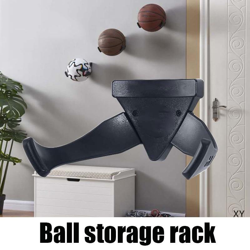 Basketball Football Racks Wall Mounted Storage Shelf Ball Display Holder Stand SAL99